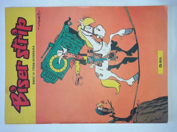 Biser strip 18:Talični Tom:Jednoruki bandit